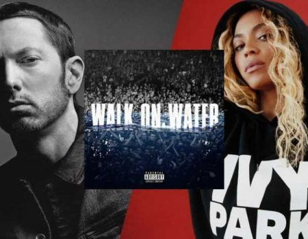 "Ouça ""Walk On Water"", dueto de Eminem com Beyoncé."
