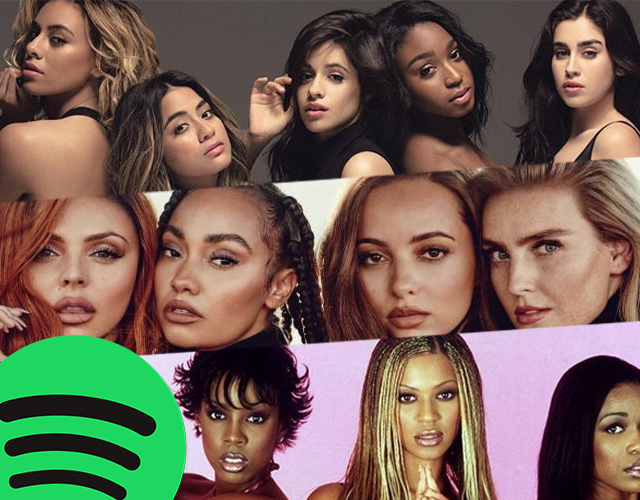 Confira lista das girlbands com mais streams no Spotify