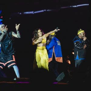 Anitta canta com Black Eyed Peas no Rock In Rio 2019