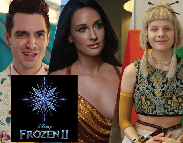"Ouça a trilha sonora de ""Frozen II"", com Panic! At The Disco, Kacey Musgraves e Aurora"