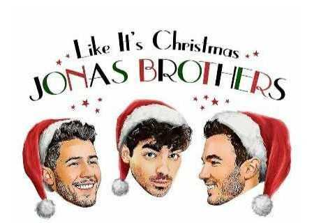 "Jonas Brothers lançam single ""Like It's Christmas"""