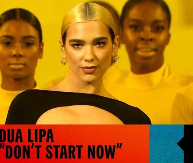 "MTV EMA 2019: Dua Lipa abre a premiação com ""Don't Start Now"""