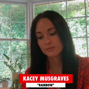 """Kacey Musgraves apresenta """"Rainbow"""" no """"One World: Together At Home"""""""