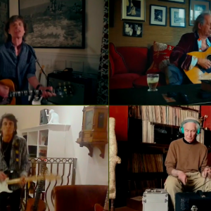"""The Rolling Stones apresentam """"You Can't Always Get What You Want"""" no """"One World: Together At Home"""""""