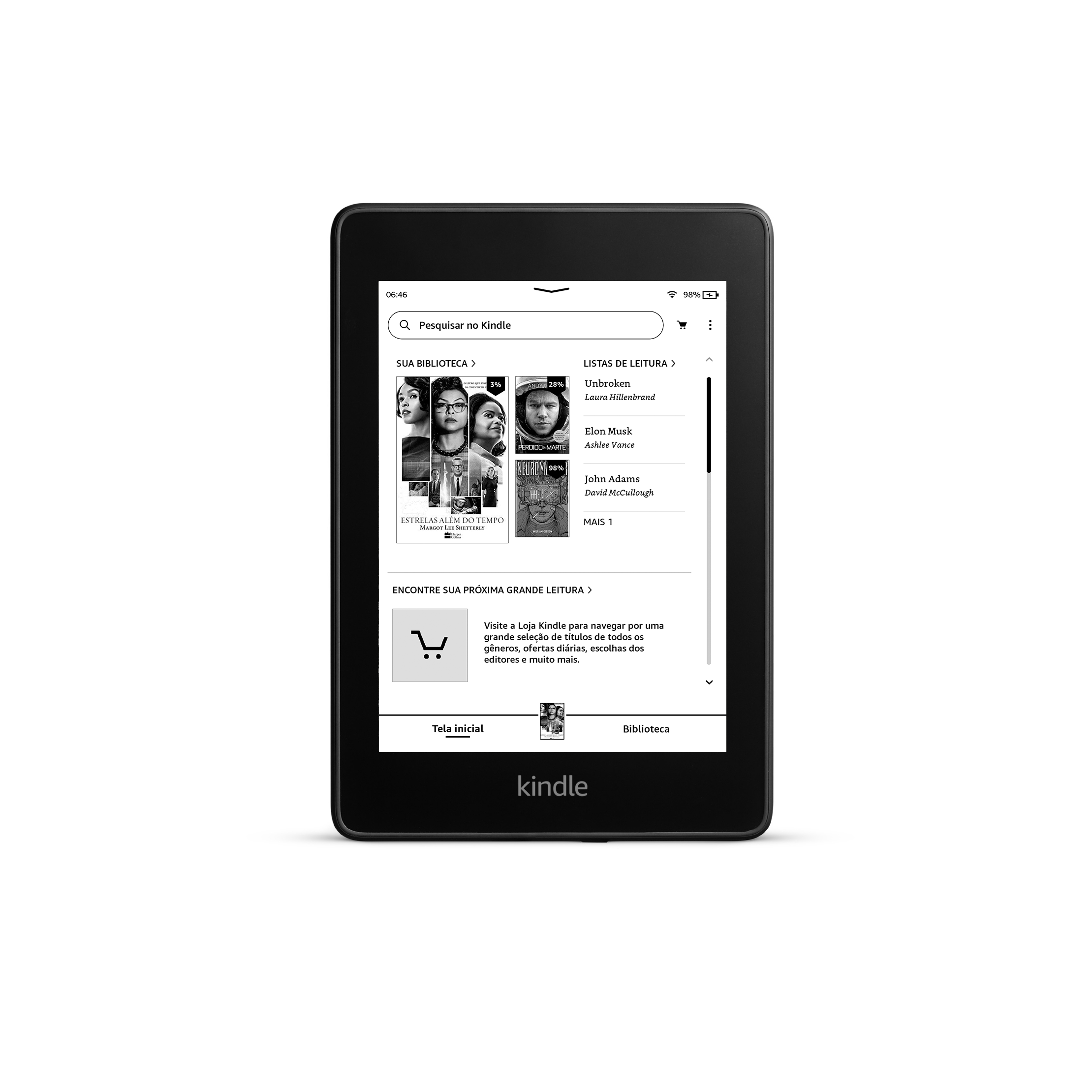 Kindle Paperwhite Front