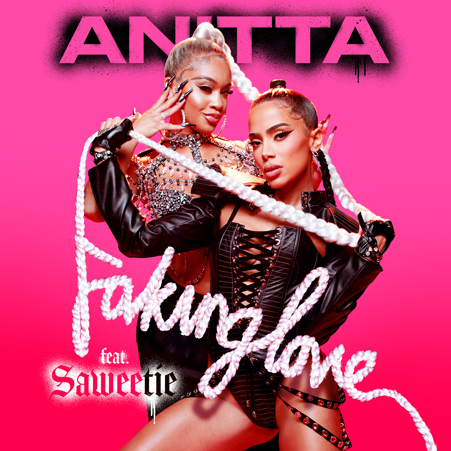 faking love cover